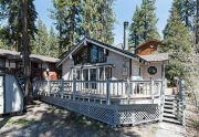 Exterior view of 350 Pioneer way | Tahoe City Real Estate