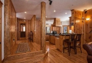 Custom Interior with pine accents