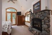 Custom Rock Fireplace