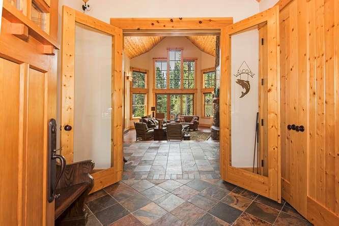 Entrance, Mud Room