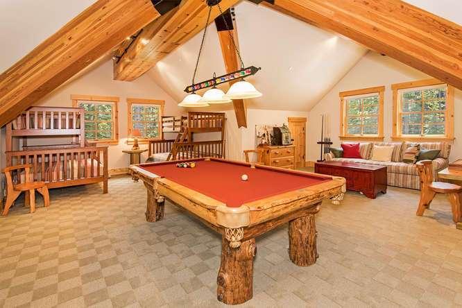 Billiards Room with Wet Bar
