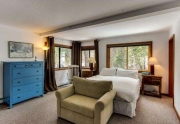 Tahoe City Home Master bedroom