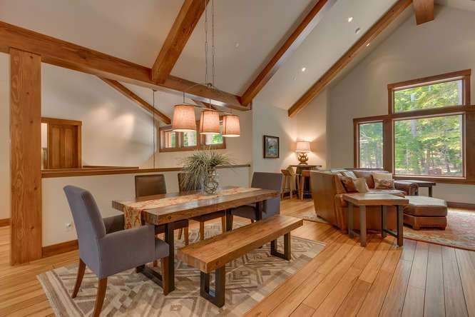 Lake Tahoe Luxury Real Estate | 4516 Muletail Dr Carnelian Bay-Dining Room