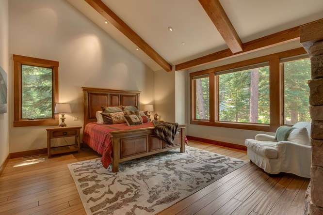 Lake Tahoe Real Estate | 4516 Muletail Dr Carnelian Bay-Master Bedroom Ensuite