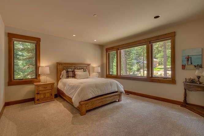Ridgewood Highlands Home For Sale | 4516 Muletail Dr Carnelian Bay-Jr Master Bedroom