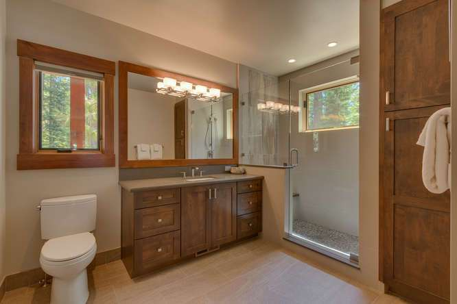 Lake Tahoe Luxury Home For Sale | 4516 Muletail Dr Carnelian Bay-Jr Master Bath
