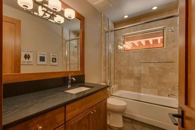 Lake Tahoe Real Estate | 4516 Muletail Dr Carnelian Bay-Guest Bathroom