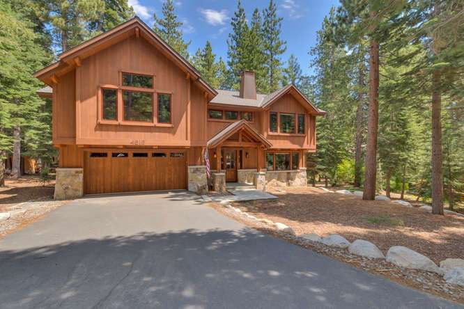 Lake Tahoe Home For Sale | 4516 Muletail Dr Carnelian Bay-Front Exterior