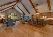 Carnelian Bay Luxury Home | 4516 Muletail Dr Living Room