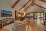 Carnelian Bay Luxury Real Estate | 4516 Muletail Dr Living Room
