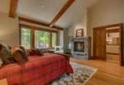 North Lake Tahoe Real Estate | 4516 Muletail Dr Carnelian Bay-Master Bedroom Ensuite