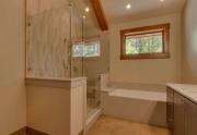 North Shore Lake Tahoe Home | 4516 Muletail Dr Carnelian Bay-Master Bath