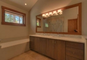 North Shore Lake Tahoe Real Estate | 4516 Muletail Dr Carnelian Bay-Master Bath