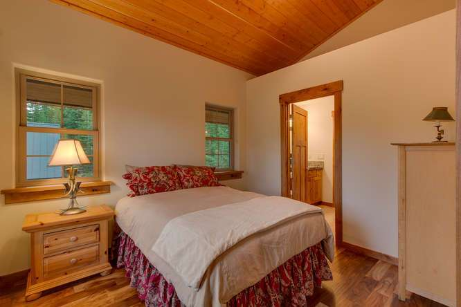 Tahoe City Luxury Home | Bedroom 3