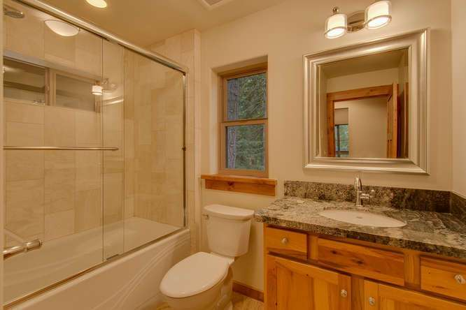 Tahoe City Real Estate | In-Law Quarters Bathroom
