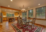 Lake Tahoe Real Estate | Open Concept Dining Area
