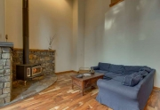 Tahoe City Real Estate | Living Area with Vaulted Ceilings