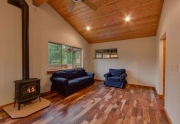 Lake Tahoe Luxury Real Estate | In-Law Quarters Living Area