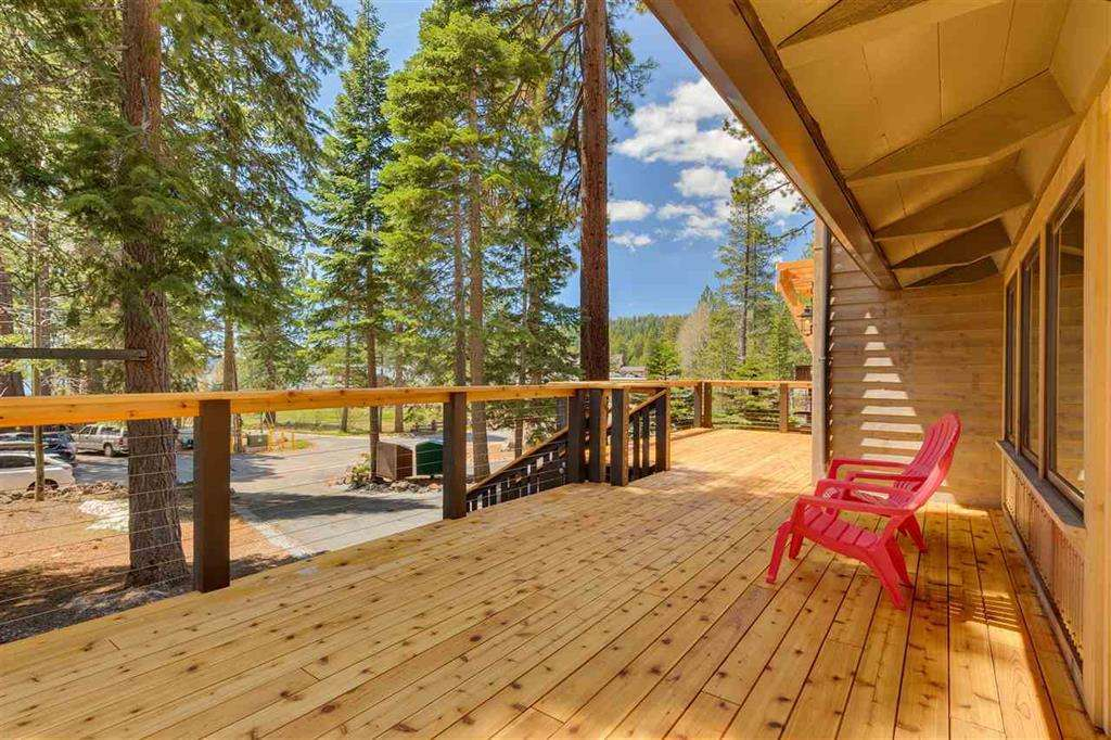 Carnelian Bay Home | 5219 Turquoise Ave | Deck