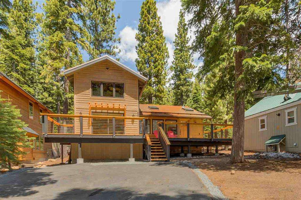 Carnelian Bay Home | 5219 Turquoise Ave | Exterior View