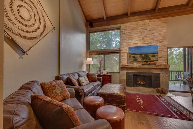 Northstar Condo | 6018 Mill Camp Truckee CA | Living Room