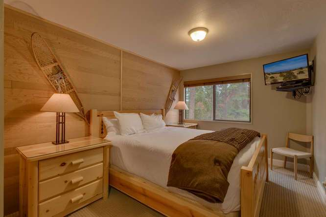 Truckee Condo | 6018 Mill Camp Truckee CA | Bedroom