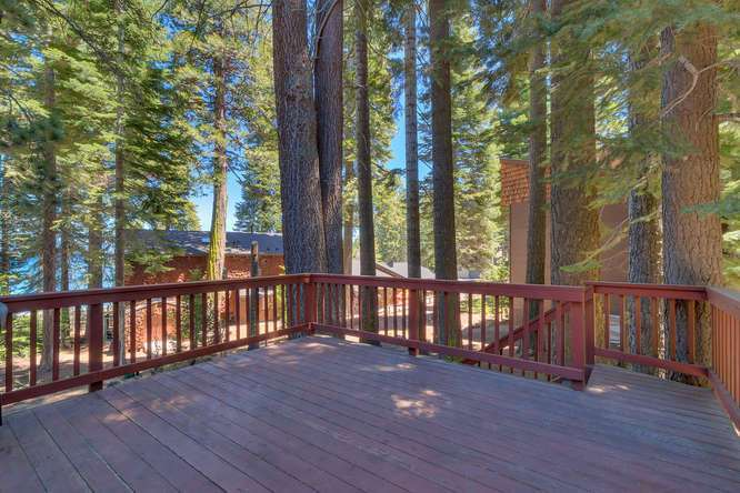 Lake Tahoe Home for sale | Spacious Deck
