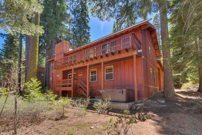 Lake Tahoe Home for Sale | 6070 Quail Creek Road | Outside view