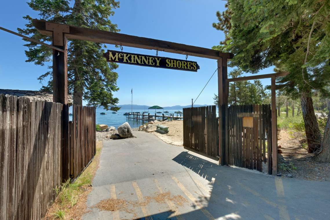 McKinney Shores HOA Beach and Pier in Homewood, CA