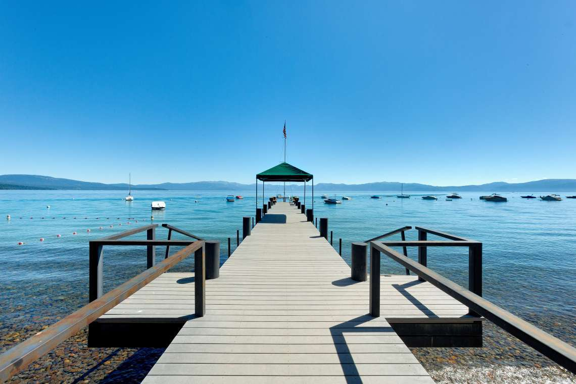 McKinney Shores HOA Pier on Lake Tahoe