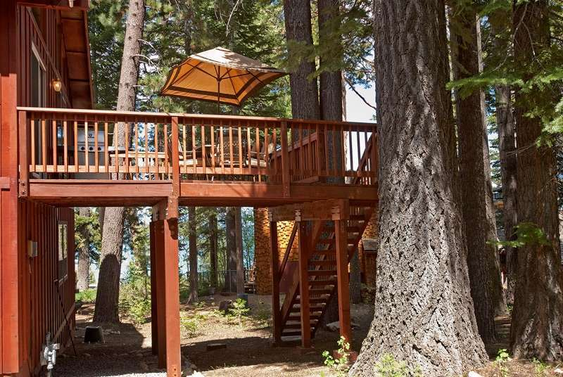 Lake Tahoe Real Estate | 6070 Quail Creek Road | Deck