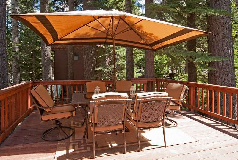 Lake Tahoe Real Estate | 6070 Quail Creek Road | Patio