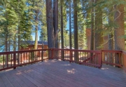 Lake Tahoe Home for sale | Spacious Deck