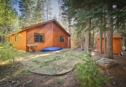 6632 Pine Street | Lake Tahoe Real Estate | Back of House