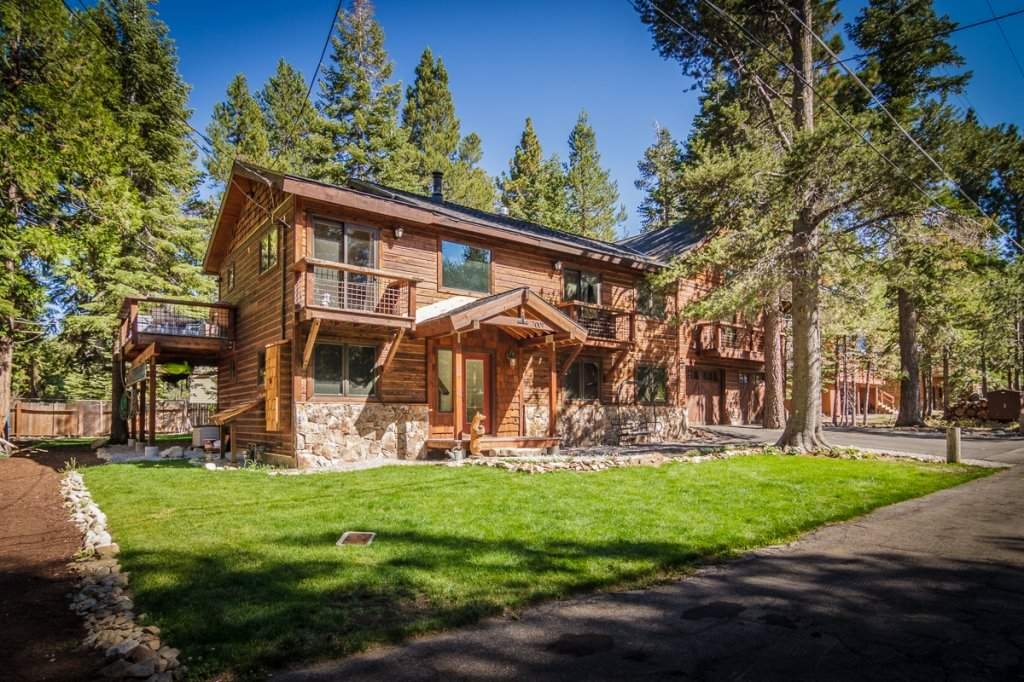 7001 Hilo Avenue | Front of Home | Lake Tahoe Luxury Real Estate