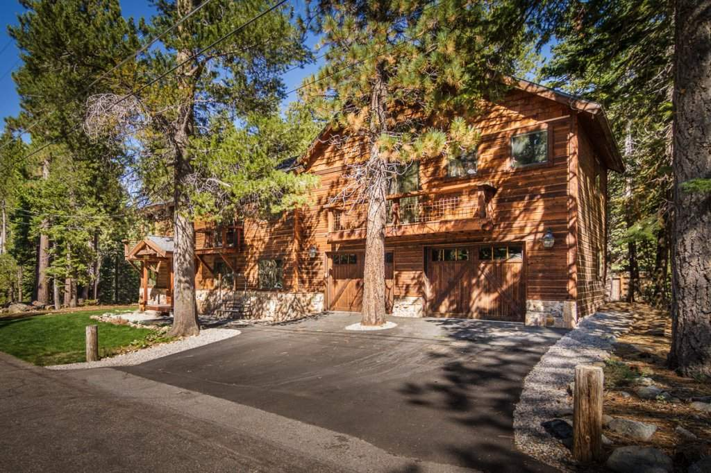 7001 Hilo Avenue   Exterior of Home   Lake Tahoe Real Estate