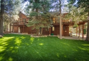 7001 Hilo Avenue | Back Yard | Lake Tahoe West Shore Real Estate