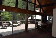 Truckee River Real Estate   Living Area with Picture Windows
