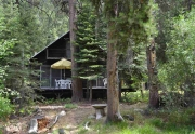 Truckee Real Estate | Back of Home