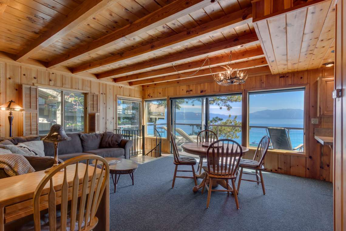 Tahoe Lakefront Homes
