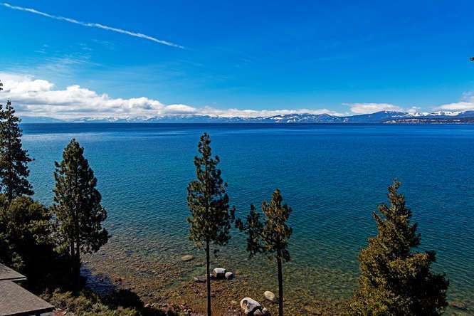 Brockway Springs Lakefront   Lake Tahoe Penthouse For Sale