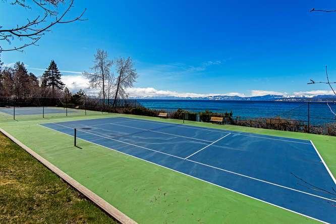 Brockway Springs Lakefront   Tennis Court