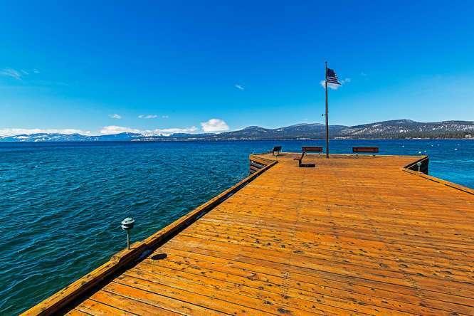 Brockway Springs Lakefront Pier