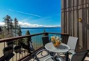 Brockway Springs Lakefront | Deck with View of Lake Tahoe