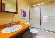 Lake Tahoe Real Estate | Hallway Bathroom