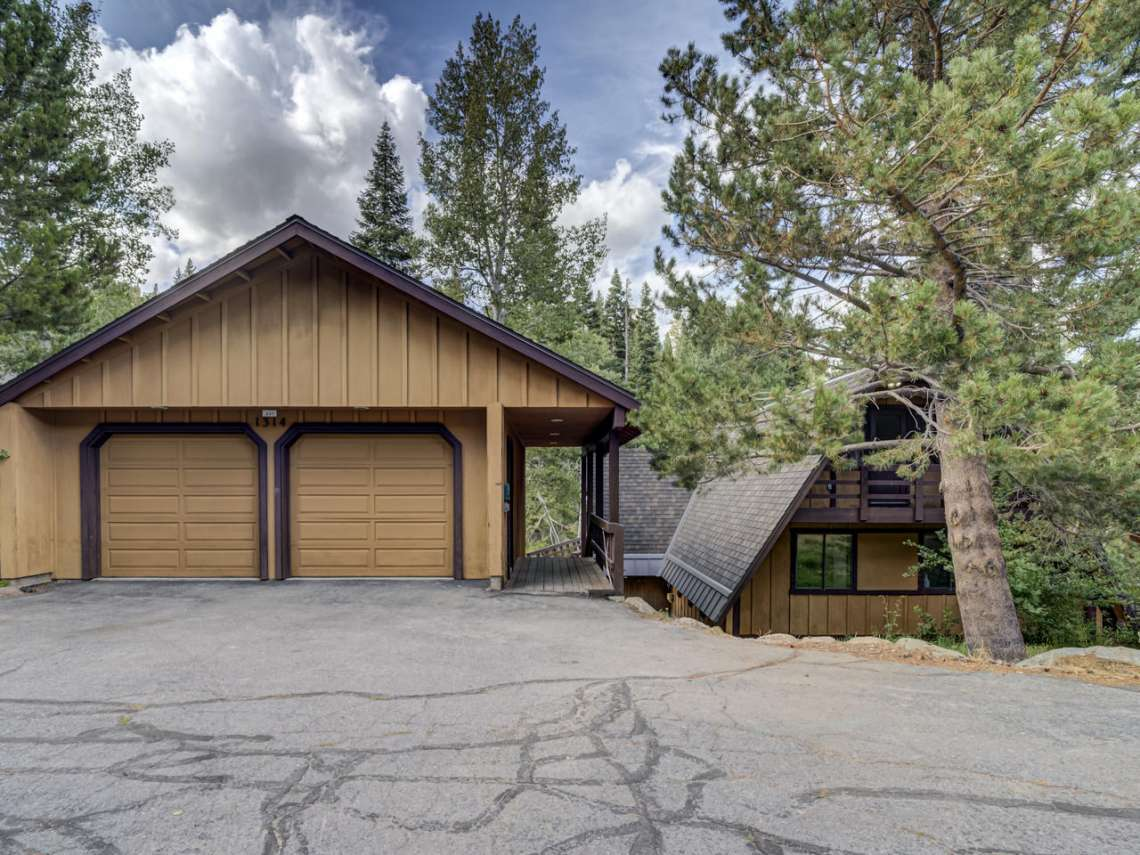 Alpine Meadows Real Estate | 1314 Mineral Springs Trail Front Exterior
