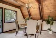 Alpine Meadows Ski Cabin | 1314 Mineral Springs Trail Dining Room