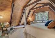 Alpine Meadows Cabin for Sale | 1314 Mineral Springs Trail Master Bedroom