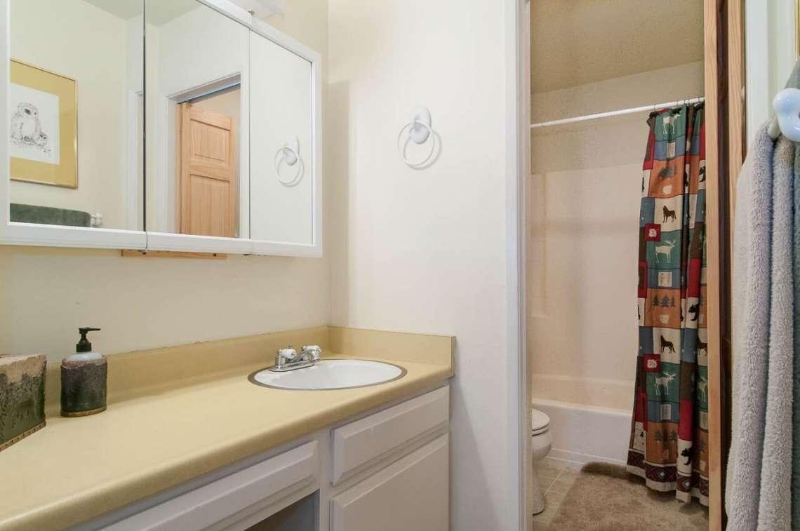 Alpine Meadows Real Estate | 2090 Chalet Rd #15 | Bathroom