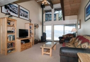 North Lake Tahoe Condo | 2090 Chalet Rd #15 | Living Room